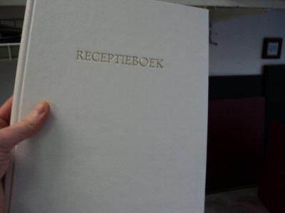 Blanco gastenboek