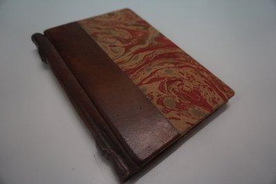 gemarmerd notitieboekje
