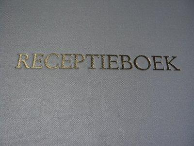 Gastenboek receptie