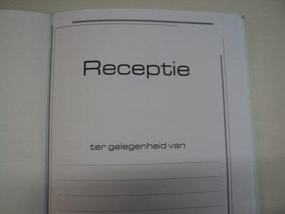 lederen receptieboek