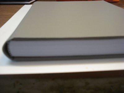 Linnen dummy boek a4