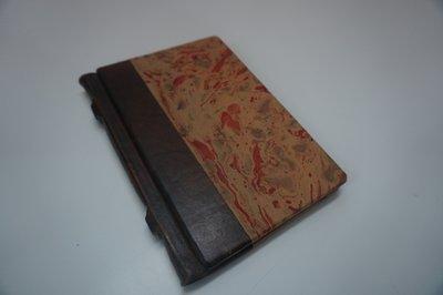 Oud lederen adresboekje kopen adresboek