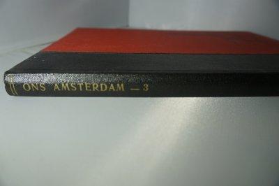Ingebonden Ons Amsterdam jaargang 3 1951