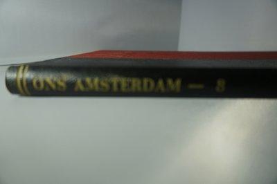 Ingebonden Ons Amsterdam jaargang 8 1956