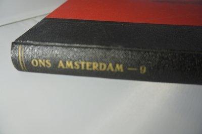 Ingebonden Ons Amsterdam jaargang 9 1957