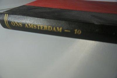 Ingebonden Ons Amsterdam jaargang 10 1958