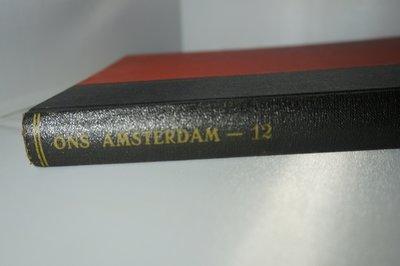 Ingebonden Ons Amsterdam jaargang 12 1960