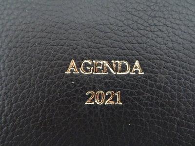 2021 Buroagenda leer