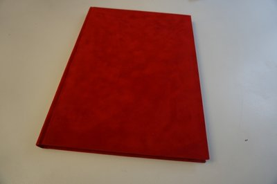 rood fleece boek