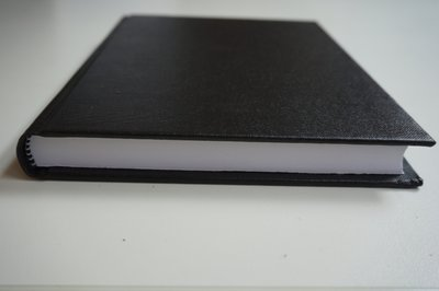 zwart notitieboek a5